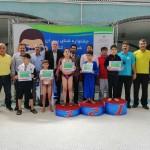 جشنواره شنای پسران زیر ١٠ سال شمال غرب کشور 16 و 17 مرداد 1398 با حضور ١۵٠ شناگر در قالب 25 تیم برگزار شد.