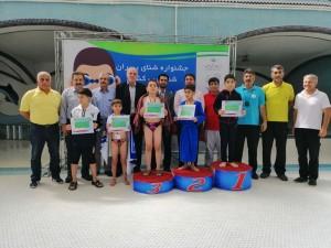 گزارش تصویری_ جشنواره شنای پسران زیر ١٠ سال شمال غرب کشور
