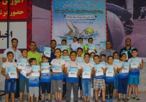 نتایج مسابقات شنا پسران زیر ۱۰سال استانهای جنوب و شرق کشور
