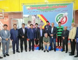 گزارش تصویری_ مراسم اختتامیه المپیاد استعدادهای برتر شیرجه ایران