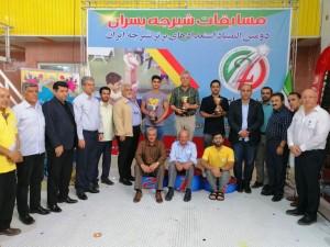 قهرمانی آذربایجان شرقی در المپیاد استعدادهای برتر شیرجه ایران