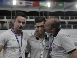 گزارش تصویری_اهدا مدال سومین روز قهرمانی آسیا