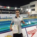 علی جعفری در سومین روز مسابقات شنا قهرمانی آسیا سومین مدال کاروان ایران را به ارمغان آورد.