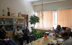 گزارش تصویری_ برگزاری جلسه کمیته فنی شیرجه