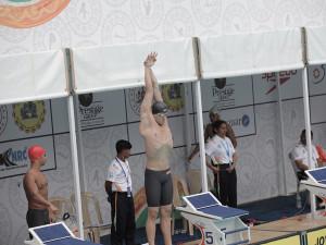 رقابت بنیامین و سینا در فینال 100 متر آزاد