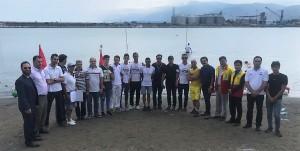 پایان مرحله دوم لیگ شنای آب های آزاد کشور در نوشهر