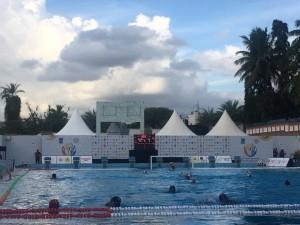 پیروزی تیم ملی واترپلو جوانان بر میزبان
