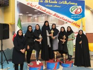 گزارش تصویری _ مراسم اختتامیه المپیاد استعدادهای برتر شنا دختران ایران