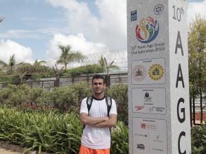 متین سهران: برای کسب سهمیه المپیک و بازیهای آسیایی 2022 تلاش میکنم