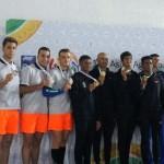 روز نخست مسابقات شنا آسیایی هند در حالی به پایان رسید که کاروان ایران یک رکوردشکنی و یک مدال تیمی را کسب کرد.