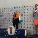 مهدی انصاری ملیپوش شنا ایران در چهارمین روز مسابقات شنا قهرمانی آسیا به میزبانی بنگلور هند موفق به دریافت نشان برنز شد.