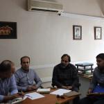 نخستین جلسه کمیته تمرین در آب با حضور مسئولان فدراسیون و اعضا کمیته برگزار شد.