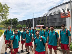 ملی پوشان واترپلو ایران در سنگاپور اردو زدند