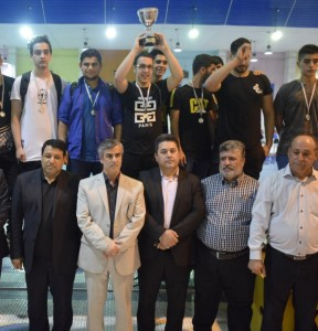 قهرمانی نفت امیدیه در لیگ واترپلو نوجوانان خوزستان