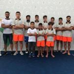 در روز پایانی مسابقات قهرمانی آسیا مجتبی ولی پور در بزرگسالان و محمد جمشیدی در رده سینی 13-12 سال موفق به کسب  دو مدال نقره سکو شدند.