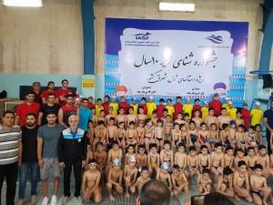 برگزاری جشنواره شنا پسران زیر ۱۰ سال خراسان رضوی