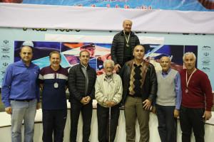 گزارش تصویری_ اختتامیه مسابقات شنا بزرگسالان جام هفته وحدت