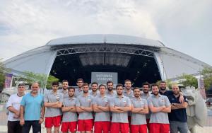 ملی پوشان واترپلو ایران پس از دوهفته تمرین سخت به کشور باز میگردند
