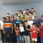 مسابقات شنا دانش آموزی پسران  استان هرمزگان به مناسبت روز دانش آموز به میزبانی بندر عباس برگزار شد.