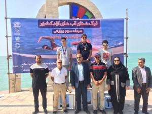 گزارش تصویری_مرحله سوم لیگ شنا آب های آزاد کشور