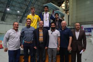 گزارش تصویری_ اختتامیه و اهدای مدال مسابقات شیرجه قهرمانی کشور