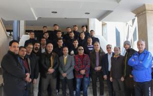 گزارش تصویری_مراسم بدرقه تیم ملی واترپلو جوانان اعزامی به کویت