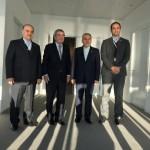 دکتر سلطانی فر و دکتر صالحی امیری در آخرین روز از سفر خود به لوزان با توماس باخ رئیس کمیته بین المللی المپیک دیدار و گفتگو کردند.