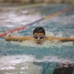دومین دوره جشنوراه شنا پایگاه استعدادیابی و توسعه ورزش قهرمانی استخر آزادی امروز جمعه ویژه پسران زیر ۱۲ سال برگزار شد.