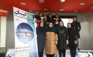 نتایج مسابقات شنا دختران جام لیان بوشهر