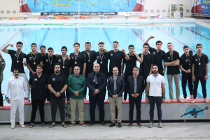 قهرمانی آبی المپیک اصفهان در لیگ دسته یک واترپلو زیر ۱۷ سال