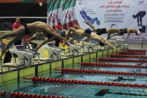 گزارش تصویری(1)_روز نخست مرحله دوم هفدهمین دوره لیگ شنا کشور