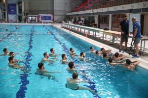 پیگیری تمرینات تیم ملی واترپلو ایران برای انتخابی المپیک