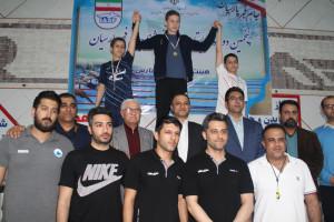 نتایج مسابقات شنا مسافت بلند جام فجر پارسیان