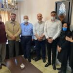 محسن رضوانی به همراه محمد علیآبادی رئیس و نایبرئیس فدراسیون شنا از هیات شنا استان تهران بازدید کردند.