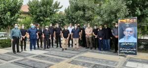 گزارش تصویری_در سوگ پدر واترپلو ایران