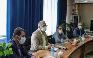 گزارش تصویری_ نشست مسئولان استعدادیابی وزارت ورزش با رئیس فدراسیون شنا