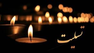 پیام تسلیت فدراسیون شنا به حمید اسکندریون