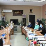 امروز(چهارشنبه) جلسهای به منظور بحث و بررسی درخصوص پروتکل برگزاری تمرینات ملی پوشان و مسابقات رشتههای تحت پوشش در محل فدراسیون برگزار شد.