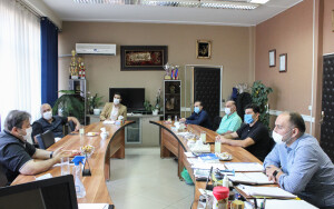 جلسه بررسی پروتکل برگزاری تمرینات و مسابقات