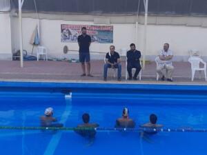 بازدید فتاحیان از پایگاه قهرمانی شنا استان اصفهان