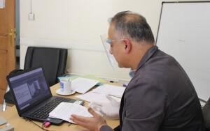 گزارش تصویری_ برگزاری کلینیک آنلاین داوری واترپلو
