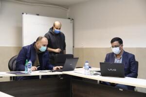 گزارش تصویری _ جلسه کمیته فنی شنا در پاییز و زمستان کرونایی