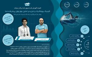 دومین دوره کلینیک بیومکانیک و تجزیه و تحلیل مهارتهای پیشرفته شنا با تدریس دکتر خبازیان و خشایار حضرتی