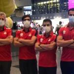 اعضای تیم ملی شیرجه ایران امروز (چهارشنبه) برای حضور در مسابقات جام جهانی شیرجه و انتخابی المپیک وارد توکیو ژاپن شدند.