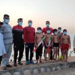 به مناسبت گرامیداشت سوم خرداد سالروز آزاد سازی خرمشهر  مسابقه آبهای آزاد ویژه نونهالان و نوجوانان در جزیره هرمز برگزار شد.