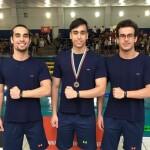 علیرضا یاوری و متین سهران در ماده 200 متر آزاد و مهرشاد افقری در ماده 50 متر پروانه مسابقات شنا بلغارستان فینالیست شدند.