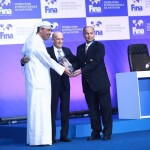 حسین المسلم، دبیرکل شورای المپیک آسیا و نائب رئیس نخست فدراسیون بین المللی شنا (FINA) بعنوان رئیس جدید این نهاد برای چهار سال آینده انتخاب شد.