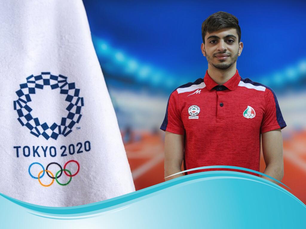 نماینده شنا ایران در المپیک 2020 توکیو با ثبت زمان 1:59:97 در ماده 200 متر پروانه رکورد ملی این ماده را شکست و در دسته خودش دوم شد.