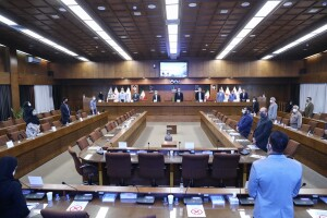 مجمع عمومی فدراسیون شنا به ریاست دکتر علی نژاد برگزار شد/ رضوانی از تلاش برای میزبانی ایران در واترپلو جوانان آسیا خبر داد