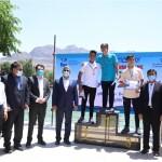جشنواره شنا به مناسبت بزرگداشت روز جهانی فدراسیون بین المللی شنا ویژه پسران استان لرستان در محل دریاچه کیو شهرستان خرم آباد برگزار شد.